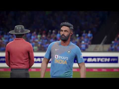 (INDIA VS WEST INDIES) T-20 MATCH 2019, CRICKET 19 GAMEPLAY  1080p 60fps
