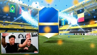 OMG 6 WALKOUTS + DOUBLE 90+ RATED TOTS IN ONE PACK! - BEST EVER  FIFA 17 EPL FUT CHAMPIONS REWARDS!