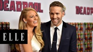 Blake Lively & Ryan Reynolds' Sweetest Moments | ELLE - dooclip.me