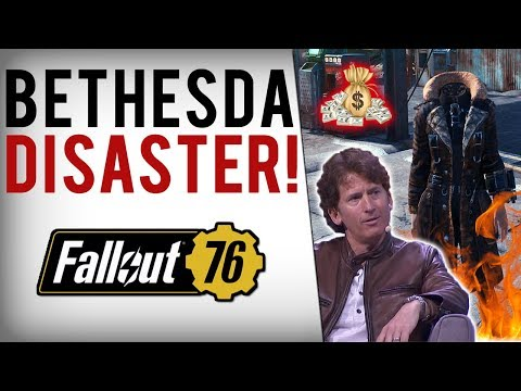 Bethesda's Chaos - Fallout 76 Fans ANGRY! More Greed, New P2W Items & Old Bugs Break Game AGAIN!
