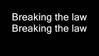 Judas Priest-Breaking the Law (Lyrics)