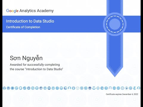 Introduction to Data Studio Exam All Questions and Answers - Dec ...