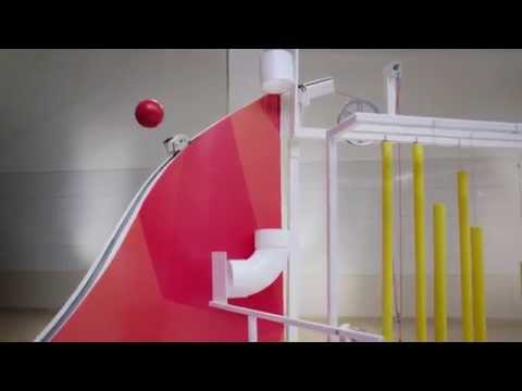3M's Impressive, Science-y Rube Goldberg Machine