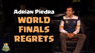Adrian Piedra Talks About His World Finals Regrets - CCGS World Finals Interview