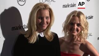 Kylie Jenner And Jessica Alba Among Stars Honoring Image Makers In Hair And Makeup At Marie Claire E