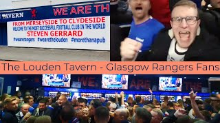 Glasgow Rangers Fans In The Louden Tavern   The Best Football Pub?