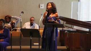 Ashley Manley(singing Golden by Chrisette Michele)