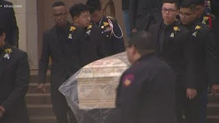 Memorial held for Bellaire High School student fatally shot on campus