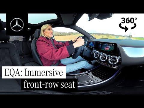 Musique publicité Test-Drive 360° Mercedes Benz dans le nouveau pub EQA 2021   Juillet 2021