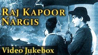 Raj Kapoor & Nargis (HD)  - Jukebox - Top 10 Raj Kapoor Nargis Songs