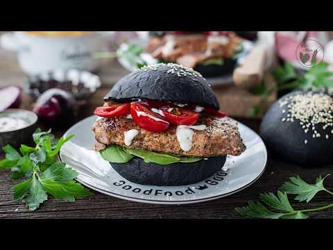 Black Burger Buns (in German)