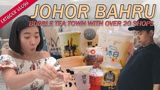 We Found a Bubble Tea Town in JB | Eatbook Overseas Guide | EP 7