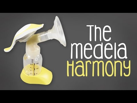 how to use the medela harmony pump