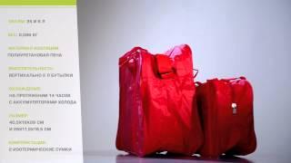 Термосумки Fiesta, 2 шт, 25л / 6л, 0,586 кг, изоляция пена от компании Большая ярмарка - видео