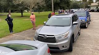 Time lapse: Early voting lines in New Orleans