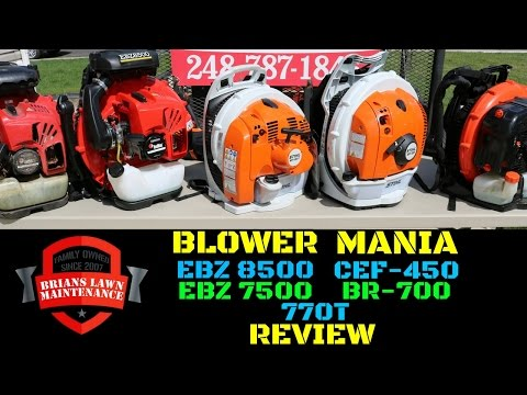 Blower Mania Review – EBZ 8500vsEBZ 7500vsBR-700vsCEF-450vs770T