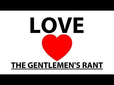 Názor gentlemanů na lásku