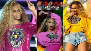 BEYONCE 2nd Coachella Performance! SAME songs NEW clothes! Beyonce and Solange FALL DOWN on Stage!