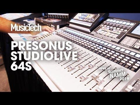 DAW control and live plug-ins on Presonus Live 64S #SummerNAMM2019