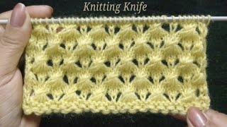बहुत आसान सुंदर बुनाई, Very Easy Knitting Pattern For Baby Layette, Cardigan, Blanket, Shawl/Muffler