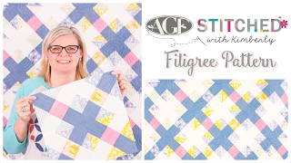AGF Stitched Filigree Quilt Pattern: Easy Quilting Tutorial with Kimberly Jolly of Fat Quarter Shop