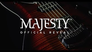 Music Man John Petrucci Majesty Stealth Black - Video