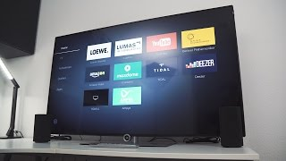 Loewe One 55 4k Fernseher + Sound System Review! [deutsch]