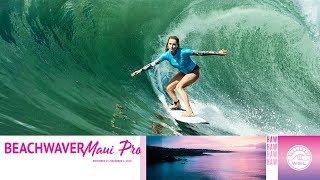 Lakey Peterson Vs. Alana Blanchard - Round Two, Heat 3 - Beachwaver Maui Pro 2018