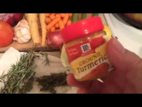 Video Medicinal Rosemary Chicken Soup Part 1