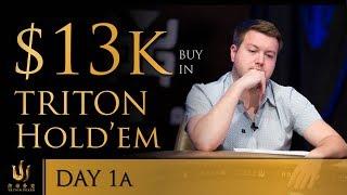 Short Deck Ante-only 100K HKD. Triton Poker Super High Roller