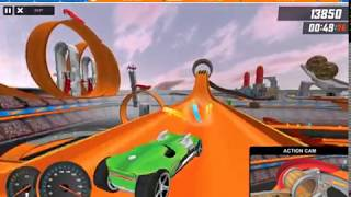 HOT WHEELS TRACK BUILDER GAME HW Ballistik / HW Twin Mill III Sets Gameplay Video
