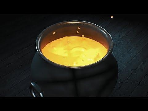 Boiling Liquid Effect