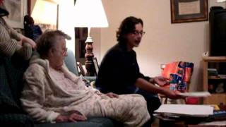 14 minutes of a night with my Grandmother who has dementia.