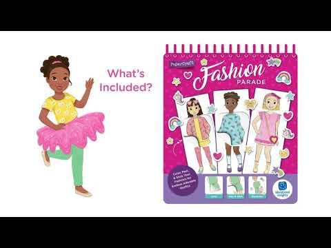 Youtube Video for Fashion Parade - Colour, Peel & Stick