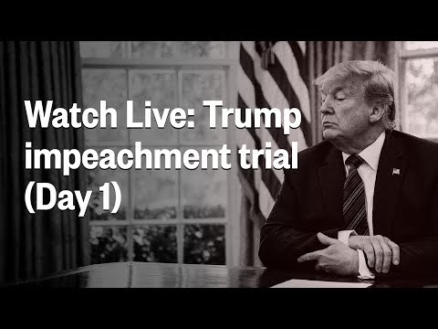 Senate Impeachment Trial Of President Trump | Day 1 | NBC News (Live Stream)