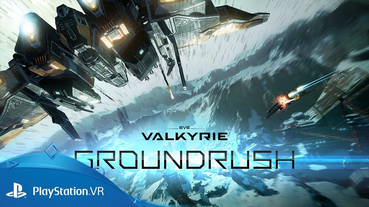 L'aggiornamento Groundrush di EVE: Valkyrie porta su PS VR una nuova mappa, migliorie alla modalità cooperativa e tanto altro