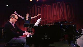 "Jeff Blumenkrantz and Emily Padgett rehearse ""Drink My Way"""