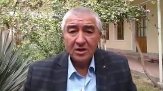 Видеообращение писателя Нурулло Отахонова