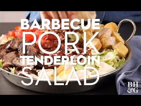 Barbecued Pork Tenderloin Salad | Weeknight Wins | Better Homes & Gardens