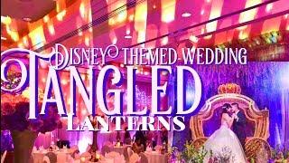 DISNEY THEMED WEDDING - TANGLED LANTERNS WEDDING INSPIRATION