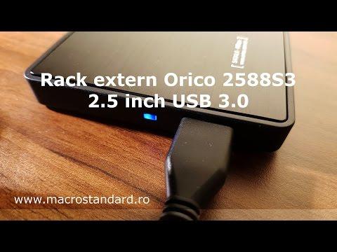 Prezentare Rack extern Orico 2588S3 2.5 inch USB 3.0