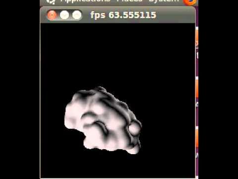 Multiscale protein folding visualization