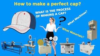 How to make a baseball cap?  How to make a snapback cap ?