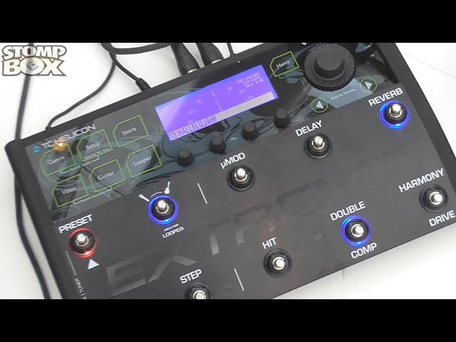TC Helicon VoiceLive 3 Extreme Demo Vocal / Guitar Processor at Musikmesse 2015