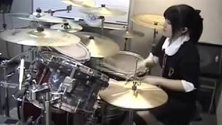 "ARCH ENEMY ""SILENT WARS"" Drumcover - Fumie Abe -"