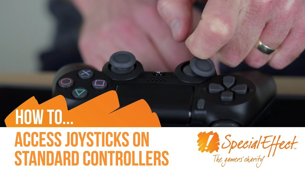 video placeholder for How to access Joysticks on Standard Controllers | How To... Video