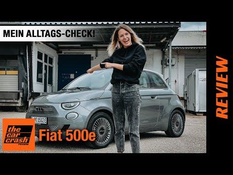 Fiat 500 e Icon (2021) Mein Alltags-Check! ✔️ Fahrbericht | Review | Test | Reichweite | Laden