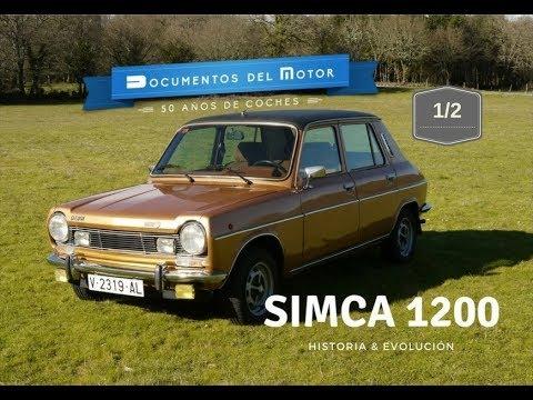 Simca 1200 (1/2)- Historia y evolución