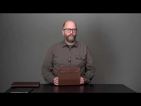 Cafe iPad Pro 12.9 Leather Cases (4th Gen) Video