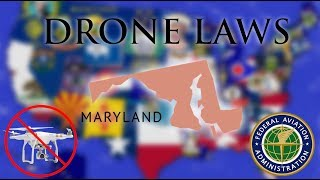 Where Can I Fly in Maryland? - Every Drone Law 2019 - Baltimore, Ocean City (Episode 20)